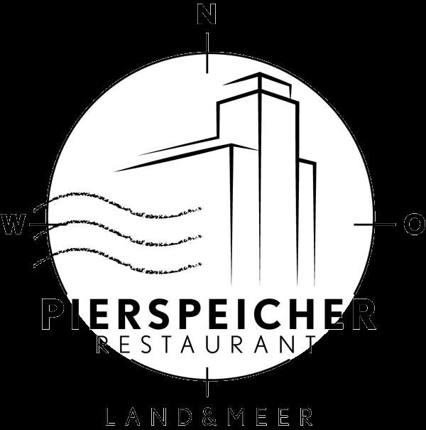 """Pierspeicher Restaurant """"Land und Meer"""" Logo"""