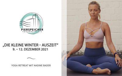 """""""Die kleine Winter-Auszeit"""" – Yoga Retreat mit Nadine Bader vom 9. – 12. Dezember 2021"""