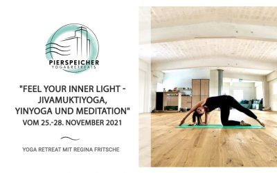 JivamuktiYoga, YinYoga und Meditation mit Redschi vom 25. bis 28. November 2021