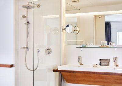 Badezimmer im Pierspeicher.