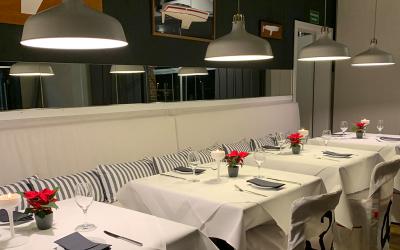 """Vorbeikommen und genießen: Im Pierspeicher Restaurant """"Land & Meer"""""""
