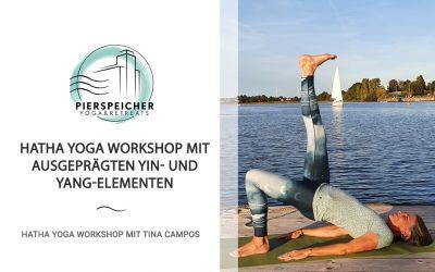 Hatha Yoga Workshop mit Tina Campos am 18. Oktober 2020