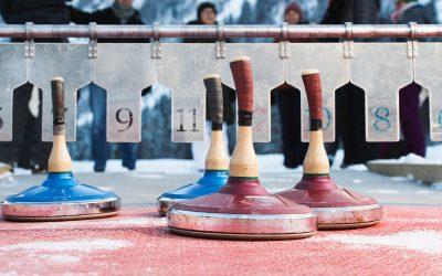 Wintervergnügen an der Schlei: Eisstockschießen in Kappeln