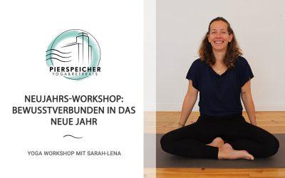Neujahrs-Workshop mit Sarah-Lena am 1. Januar 2021