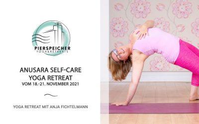 Anusara Self-Care Yoga-Retreat mit Anja Fichtelmann vom 18. – 21. November 2021