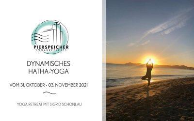 Dynamisches Hatha-Yoga mit Sigrid Schonlau vom 31.10 bis 03.11. 2021