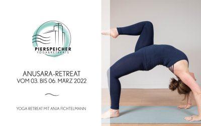 Anusara Yoga Retreat mit Anja Fichtelmann vom 03. bis 06. März 2022